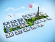 traveling to Paris.