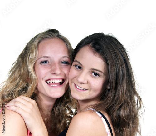 Zwei Mädchen