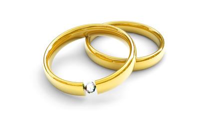 Hochzeitsringe, Konzept Partnerschaft