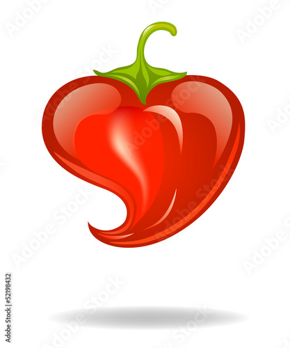 heart pepper