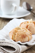 Amaretti sardi. Almond cookies typical of Sardinia