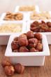 hazelnut and dried nuts