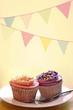 shabby chic geburtstags cupcakes