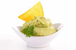 isolated guacamole