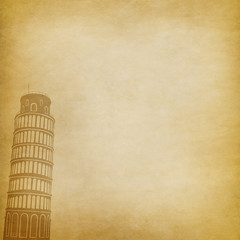 Italy - Pisa Tower background