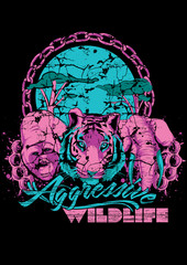 Agressive wildlife
