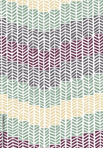 Seamless Retro Arrows Pattern