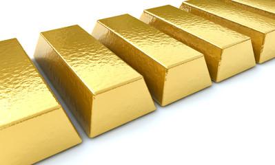 Goldbarren, Konzept Kapitalanlage