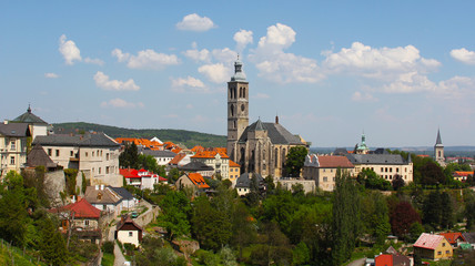 View of the town of Kutna Hora, Czech Republic