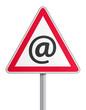 Panneau - Mails frauduleux