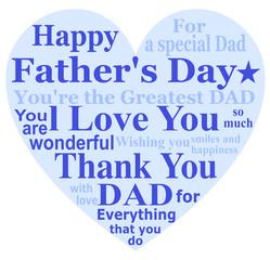 父の日 メッセージカード