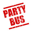 stempel eckig party bus I