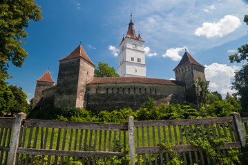 The Prejmer Fortified Church in Transylvania, Romania