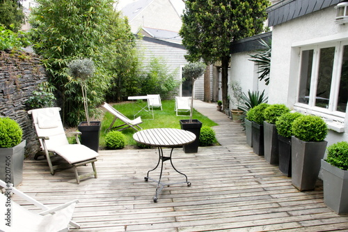 Leinwandbild Motiv jardin