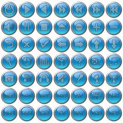 Set bottoni multimediali audio/video