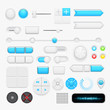Button set. Vector