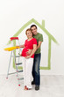 Couple expecting a baby redecorate their new home