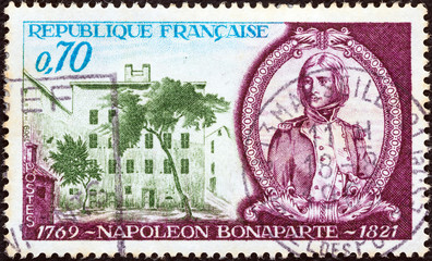 Napoleon as young officer, and birthplace (France 1969)