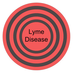 Lyme Disease Red Bullseye