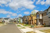 New Homes in Suburban Neighborhood