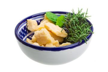 Hard estonian cheese