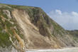 Major coastal landslide, Dorset,UK