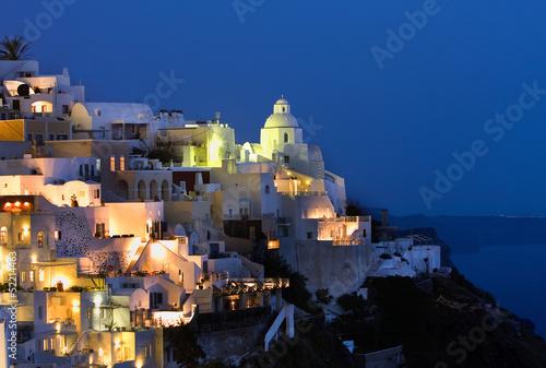 Vista de Fira (Santorini,Grecia)