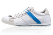 Sports women shoe over white