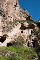 Ancient Cave Houses, Ihlara Valley in Cappadocia (Turkey)