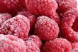 Raspberry frost macro