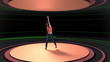 Dancing and nightlife animation and montage