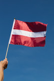 Flag of Latvia.