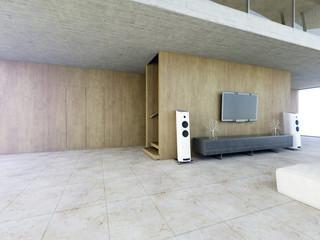 Galerie Ansicht Stadtvilla 3D