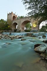 Tolentino, il Ponte del Diavolo sul fiume Chienti