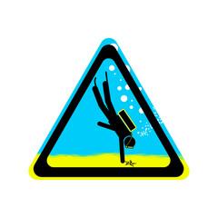 Zeichen - Diving
