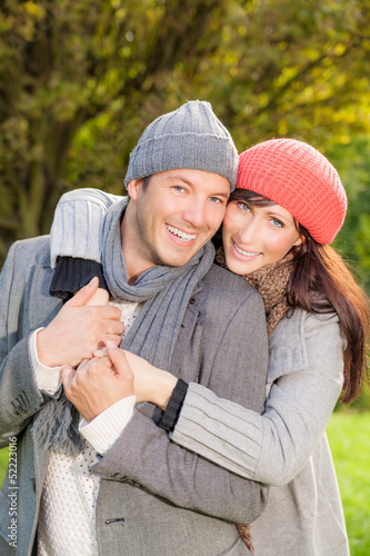 autumn fall couple