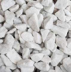 White quartz rocks background