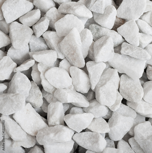 White quartz rocks background