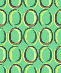 Trendy retro seamless pattern