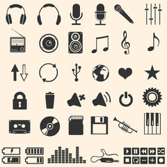 46 music icons