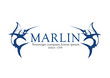 Marlin logo, swordfish logotype