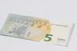ein neuer 5 Euroschein