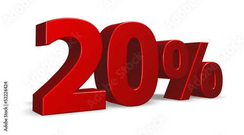twenty per cent