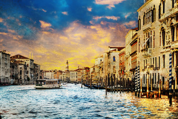 Venezia Sunset Background