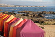 Changing rooms, Porto beach, Gondarem spot,Portugal