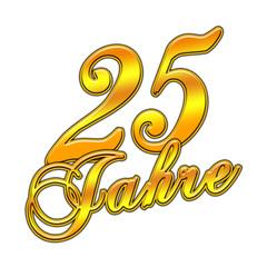 Jubiläumszahl - 25 Jahre