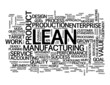 """LEAN"" Tag Cloud (quality management process improvement)"