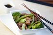 wok bœuf haricots plats verts et brocolis 4