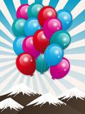 ballons montagnes