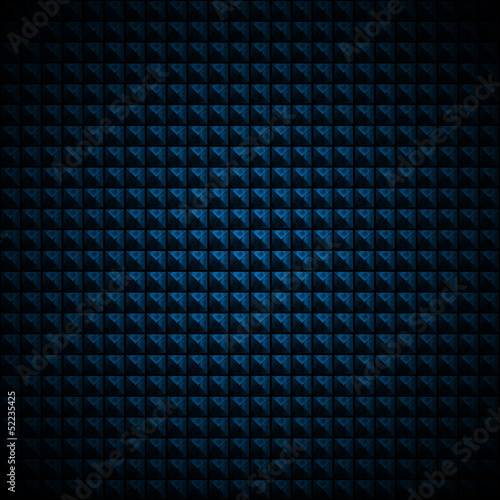 Blue and Black Abstract Background